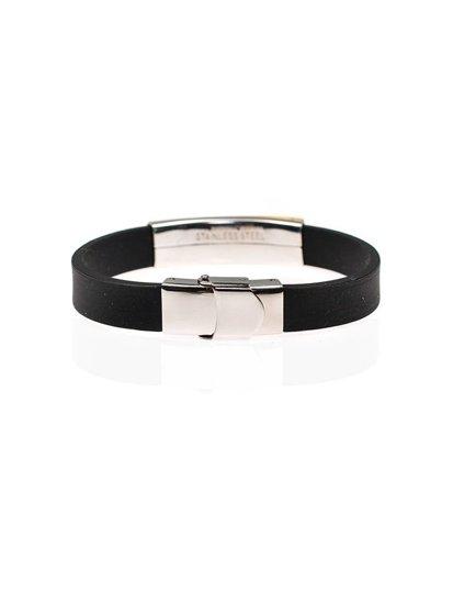 Bolf Herren Armband Schwarz B064
