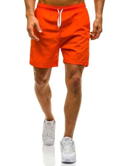 Bolf Herren Badehose Orange 6804