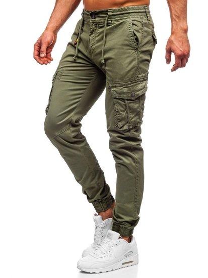 Bolf Herren Jogger Pants Cargohose Hellgrün  CT6703