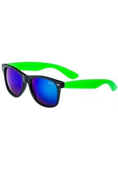 Bolf Herren Sonnenbrille Schwarz-Grün CO868