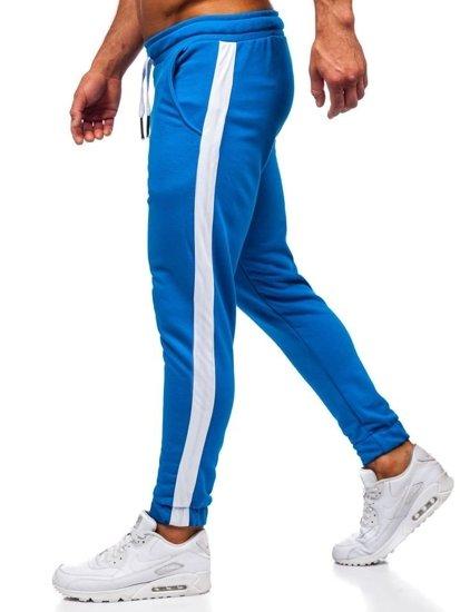 Bolf Herren Sporthose  Blau  11120