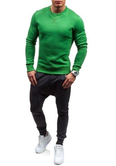 Bolf Herren Sweatshirt Grün 44S