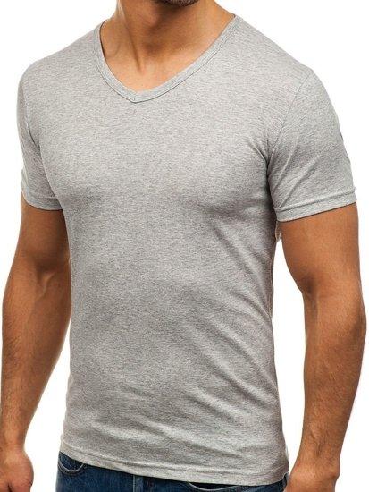 Bolf Herren T-Shirt Grau 1002
