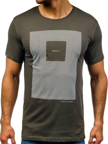 Bolf Herren T-Shirt Grün 304