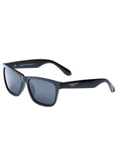 Bolf Polarisationssonnenbrille Schwarz PLS205B
