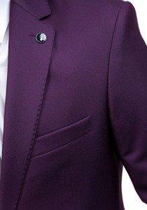 Bolf Herren Anzug Weinrot 5005-2