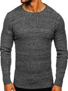 Bolf Herren Pullover Grau  H1926