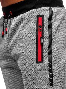 Bolf Herren Sporthose Grau AM72