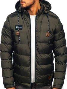 Sport Khaki Herren Winterjacke 50a200 Mit Steppmuster Bolf Jacke XZPN8nk0wO